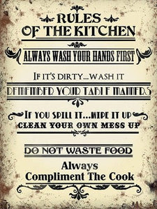 Rules of the Kitchen (Small)