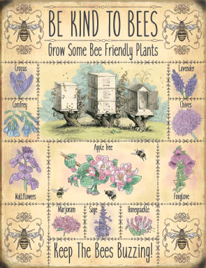 Be Kind To Bees (Small)