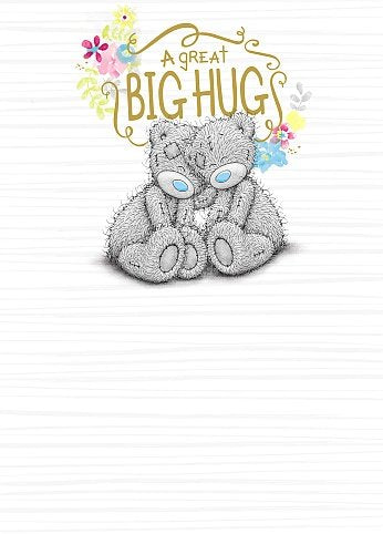 Bears Hugging - Big Hug Greetings Card