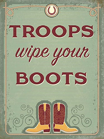 Troops - Wipe Your Boots (Small)