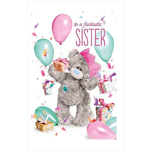 Sister Birthday Card (3D Holographic)