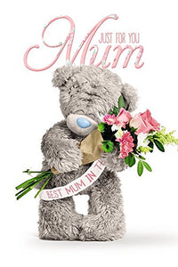 Just for You Mum - Mother's Day Card (3D Holographic)