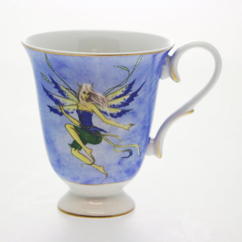 Blue Fairy Bone China Mug in Gift Box
