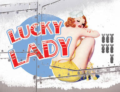 Nose Cone Girls - Lucky Lady (Small)