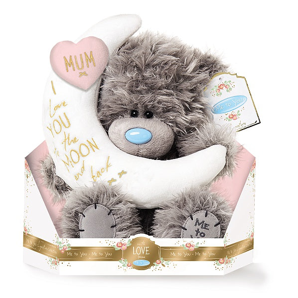 Mum, I love you to the Moon and back - 9'' Bear