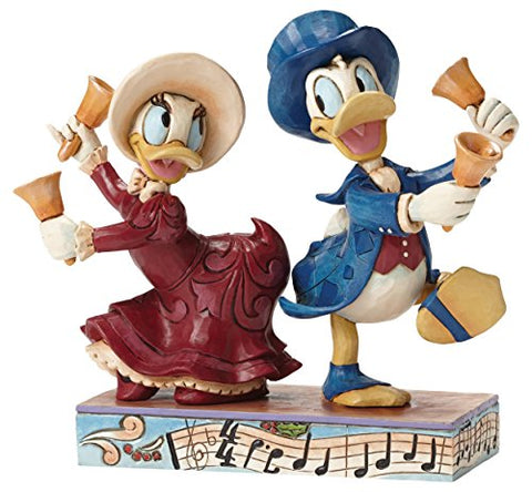 Chiming In - Victorian Donald and Daisy Duck