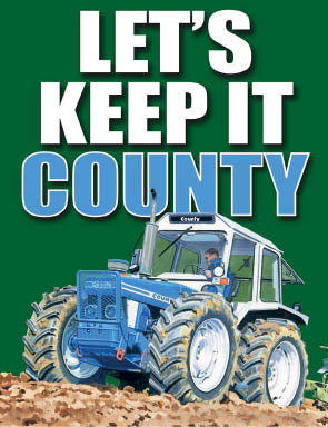 Tractor - Lets Keep It County (Small)
