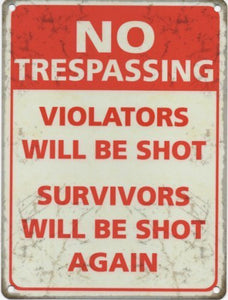 No Trespassing (Small)