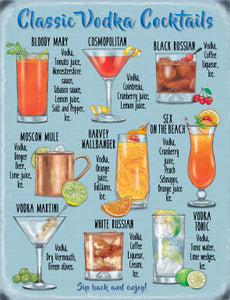 Classic Vodka Cocktail Recipes (Small)