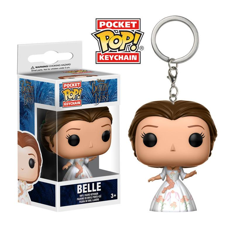 Beauty and the Beast - Celebration Belle Keychain