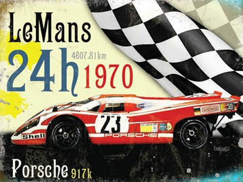 Le Mans 24h 1970 winner, Porsche (Small)