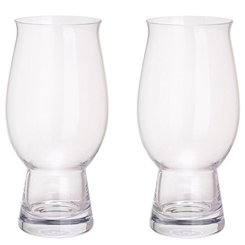 Perfect Lager Glass Pair