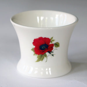 Armistice Centenary - Poppy Bone China Tea Light Holder - We will remember them… 1918-2018