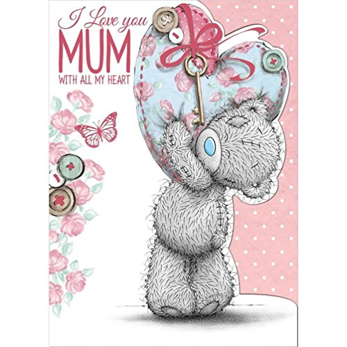 Mum with all my Heart - Mother's Day Card