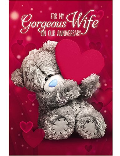 Wife Anniversary Card (3D Holographic)