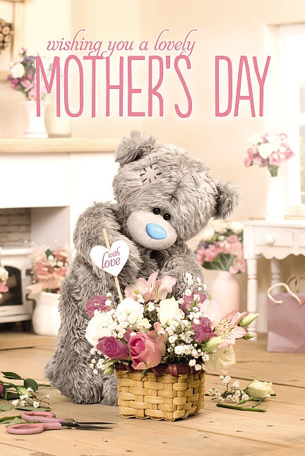 Wishing you a lovely Mother's Day Card (3D Holographic)