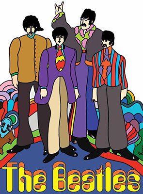 The Beatles - Yellow Submarine (Small)