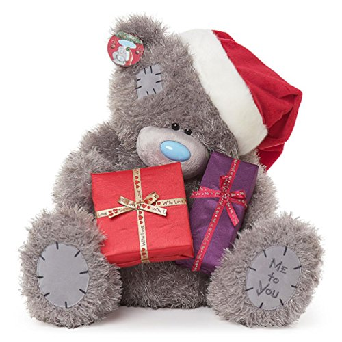 Teddy with Gifts and Santa Hat - 24'' Bear