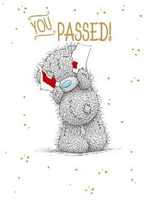 You Passed - Congratulations Card