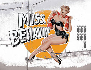 Nose Cone Girls - Miss Behavin' (Small)