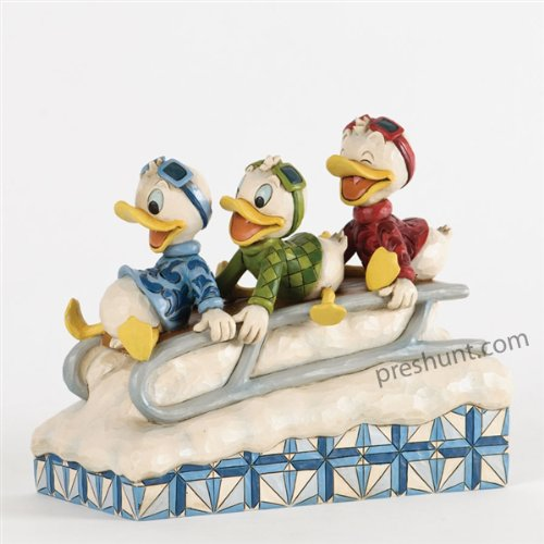Downhill Ducks - Huey, Dewey and Louie