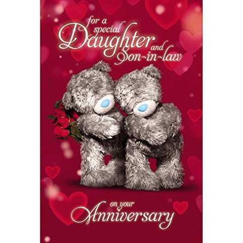 Daughter and Son-in-Law - Anniversary Card (3D Holographic)