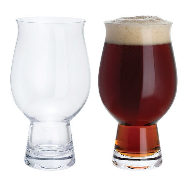 Perfect Beer Glass Pair