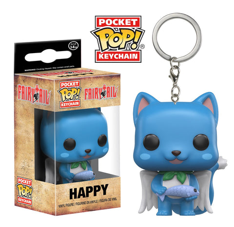 Fairy Tail - Happy Keychain