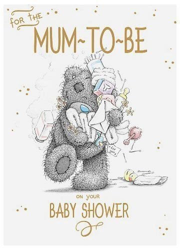 Mum To Be - Baby Shower Card