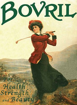 Bovril - For Health Strength and Beauty (Small)