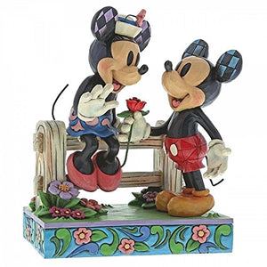 Blossoming Romance - Mickey Mouse and Minnie Mouse
