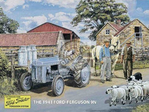 Ford Ferguson 9N Grey Tractor (Small)