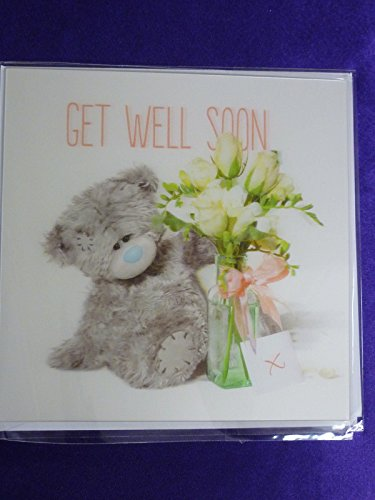 Get Well Soon Card (3D Holographic)