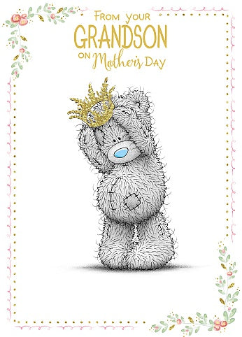 From Grandson - Mother's Day Card