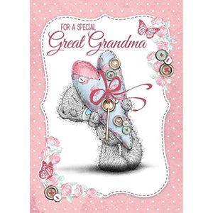 For a special Great Grandma - Mother's Day Card