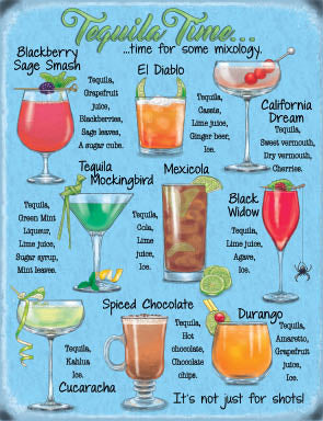 Tequila Time - Cocktail Recipes (Small)