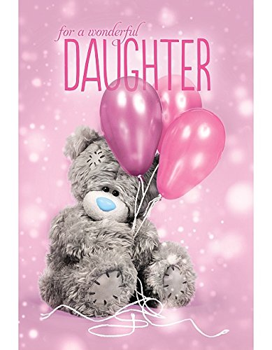Daughter Birthday Card (3D Holographic)