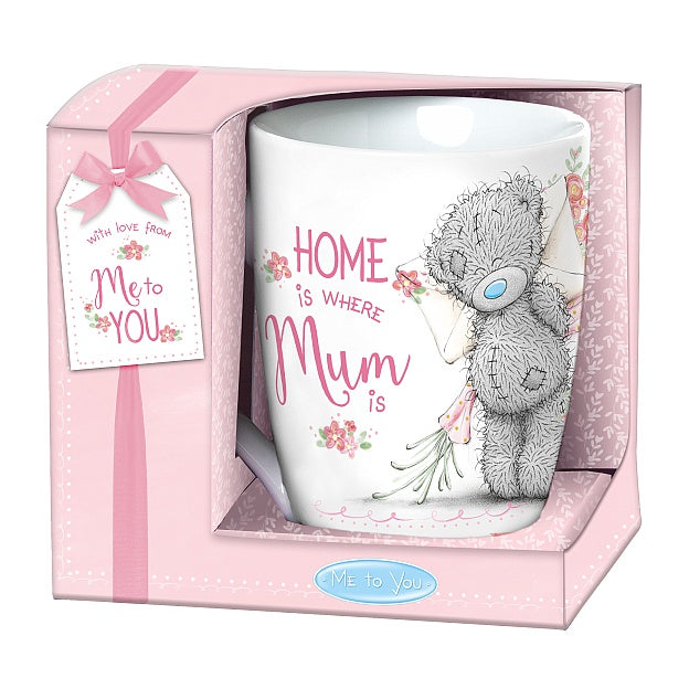 Mum Mug - Home is where Mum is