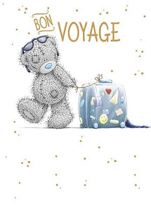 Bon Voyage Leaving Card
