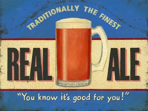 Real Ale - You know it's good for you! (Small)