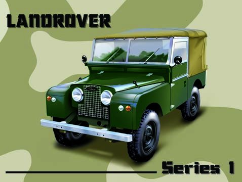 Land Rover - Series 1 (Small)