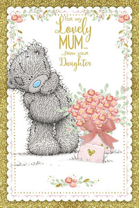 Mum from Daughter - Mother's Day Card (Handmade)