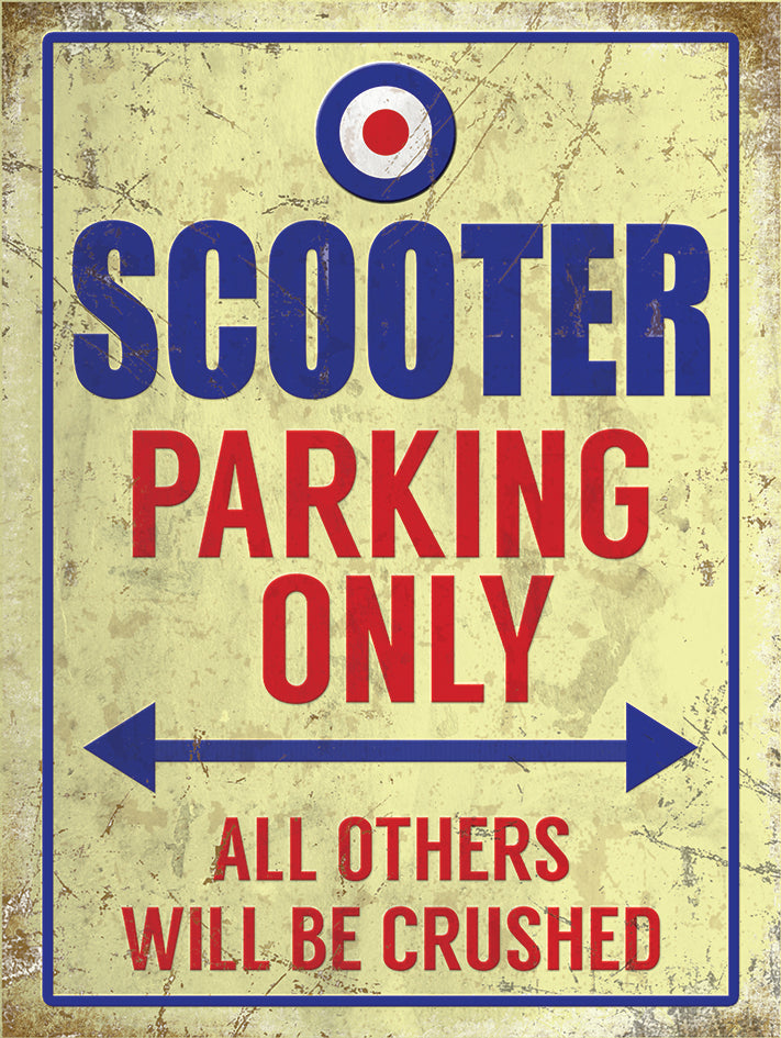 Scooter Parking Only (Small)