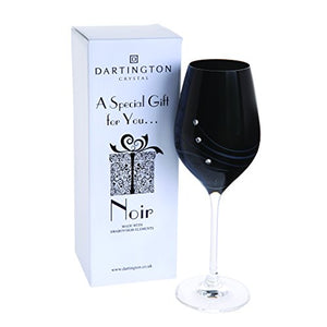 Glitz Noir Wine Glass
