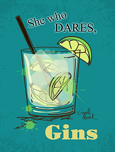 She Who Dares, Gins (Small)