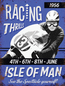 Motor Cycling - Racing Thrills - Isle of Man (Small)