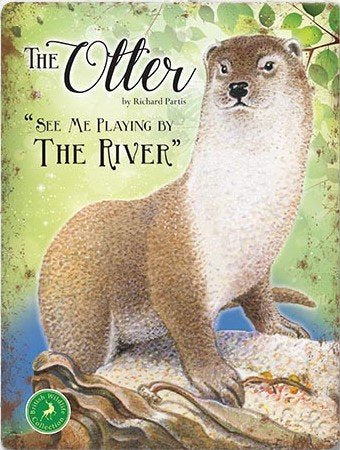 The Otter - See me playing by the river (Small)