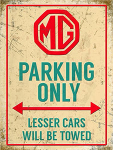 MG Parking Only (Small)