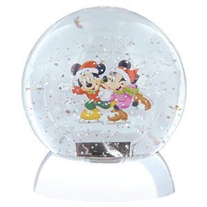 Mickey and Minnie Mouse Waterdazzler Globe