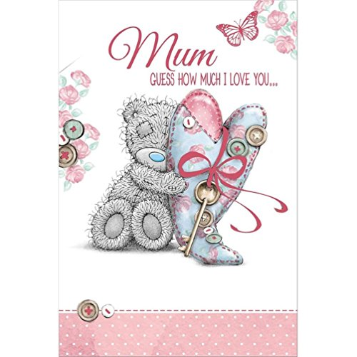 Mum - Guess how much I love you - Mother's Day Card (Pop Up)